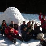 Raquettes juniors et Jeux de Neige : Vive notre igloo!