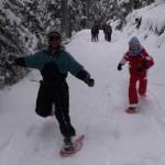 Raquettes juniors et Jeux de Neige :