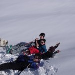 Raquettes juniors et Jeux de Neige : Trop bonne la neige